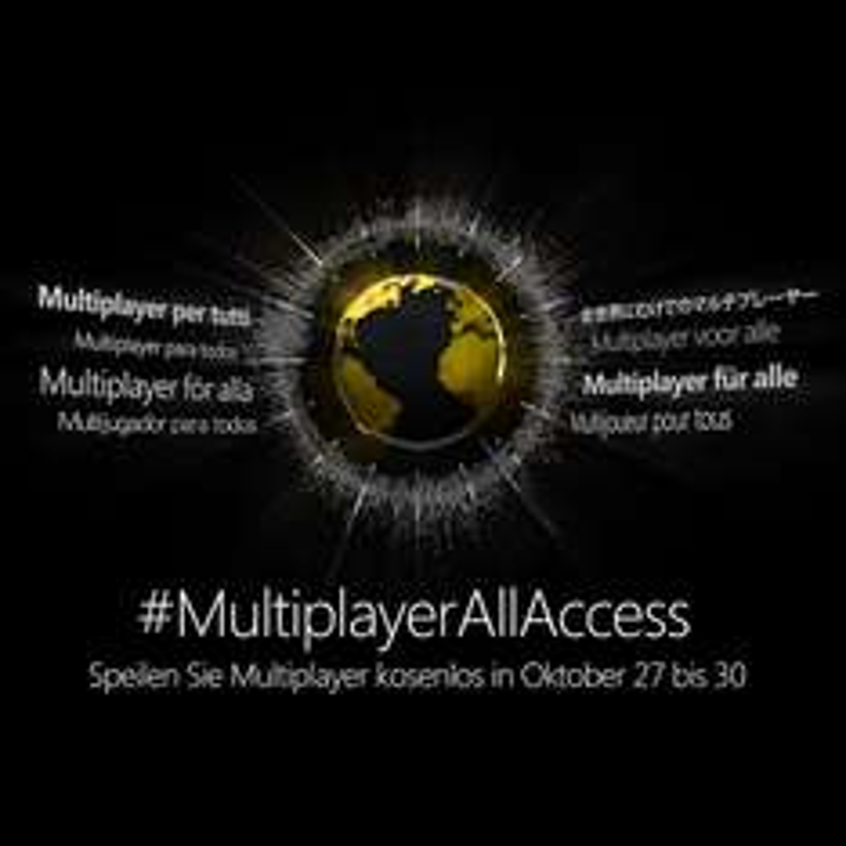 Gratis Multiplayer Wochenende für alle Xbox Besitzer