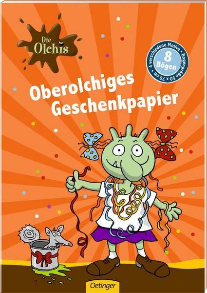 Thalia: Oberolchiges Geschenkpapier (Die Olchis) für 0,73€ inkl. Versand