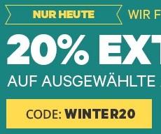20% auf ausgewählte Groupon Deals (u.A. 20 EUR Jacques' Wein-Depot Gutschein für 12 statt 15 EUR)