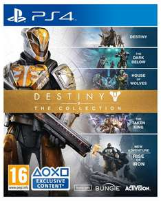 Destiny: The Collection (PS4/Xbox One) für 30,63 Euro (Simplygames)