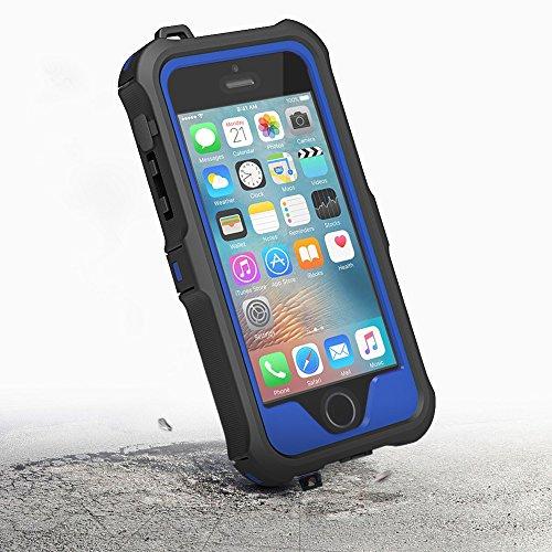 iPhone SE, 5, 5S - Via Amazon - Massive Bumper Hülle in 3 Farben Spritzwasser geschützt mit Displayschutz - Statt 14,99€ nur 4,99€