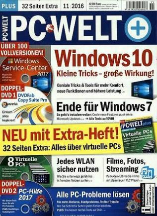 PC Welt DVD Plus im Jahresabo (12 Ausgaben) von 36,80€ (durch Geldprämie) bis 31,80€ (durch BestChoice)