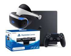 Sony PlayStation 4 Slim + VR + PS4 Kamera Bundle
