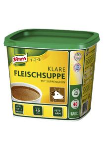 Knorr Klare Fleischsuppe mit Suppengrün (0,88 KG) Gratismuster