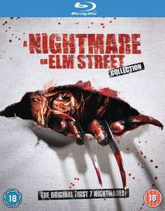 Nightmare On Elm Street 1-7 Blu-ray / Zavvi