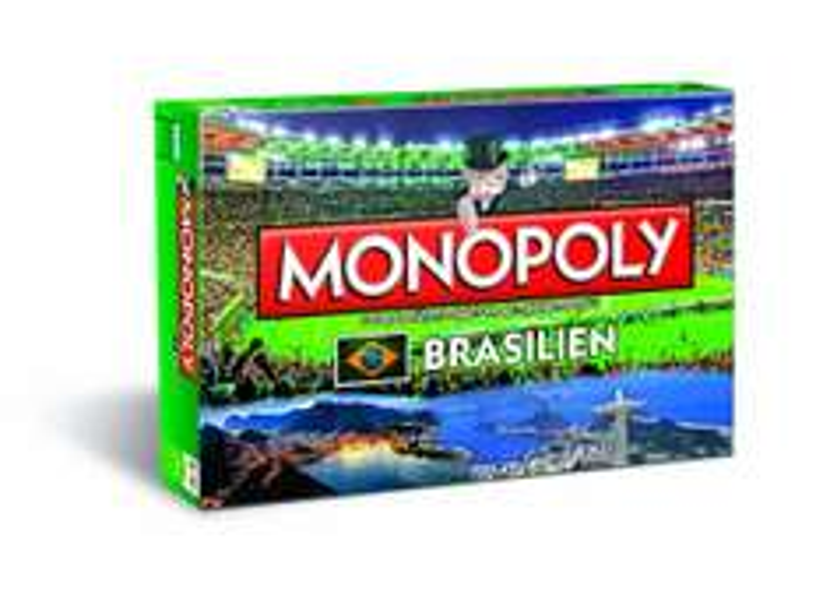 [Amazon] Monopoly Brasilien für 7,84€