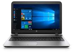 HP Probook 450 G3 mit 15,6 FHD matt, i5-6200U, 8GB RAM , 256GB SSD + 500GB HDD Intel HD 520 und Windows 10) für 588,30€ im HP Education Store