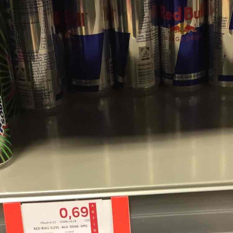 Mainz Redbull 0,69€