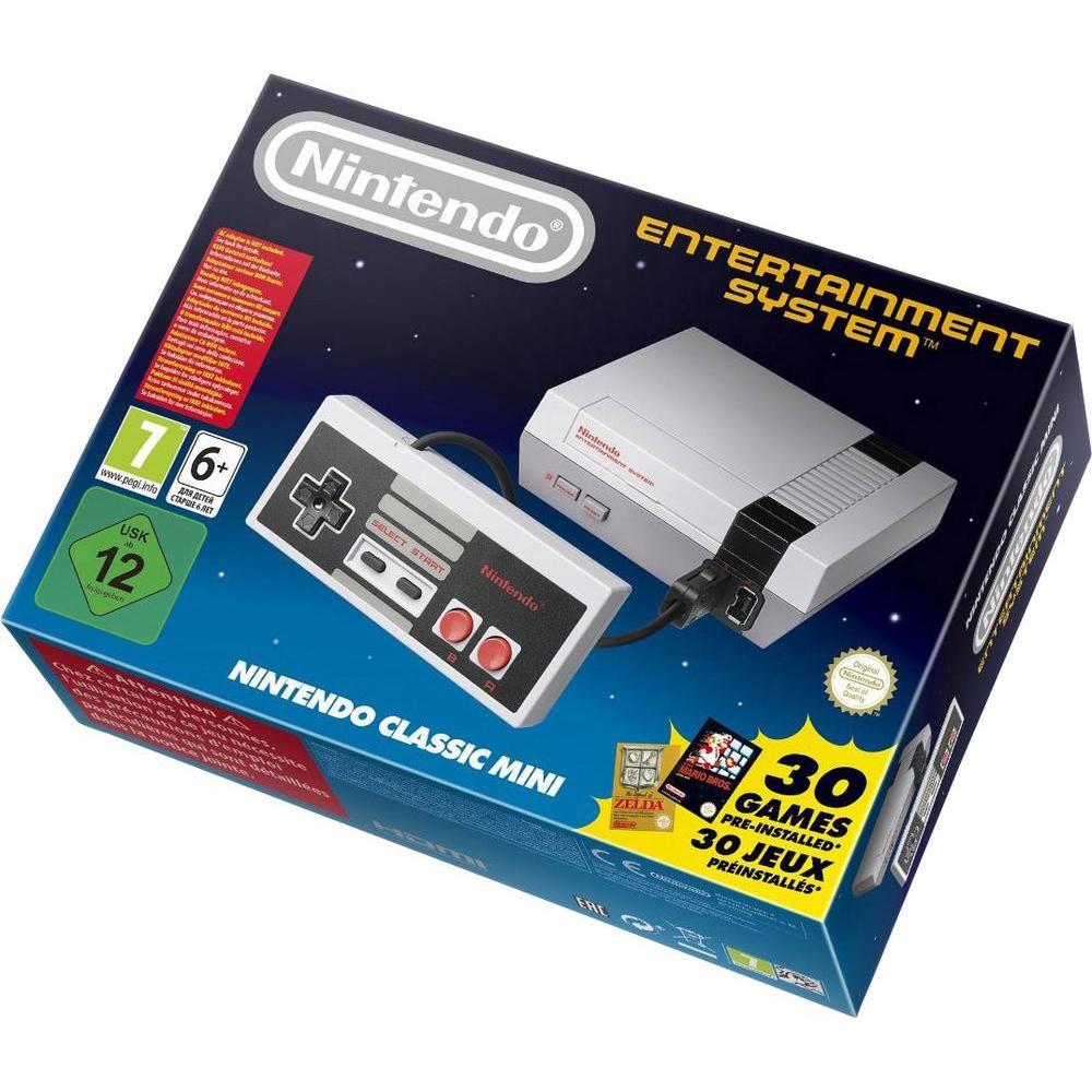 Nintendo Classic Mini NES inkl. 30 Games für 54,44 € [conrad.de]