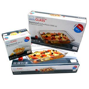 Ebay - LOCK&LOCK BOROSEAL Glasgeschirr Auflaufform Set + Frischhaltebehälter