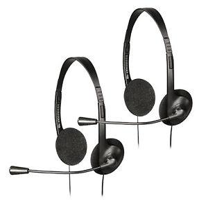 2x Headset Stereo Kopfhörer Hama Exxter-100 für 9,99€ inkl. VSK [Ebay]