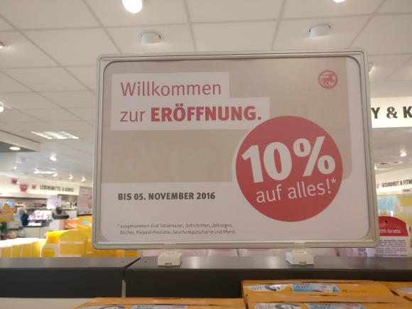 [Gummersbach] Rossmann Neueröffnung 10% auf alles!