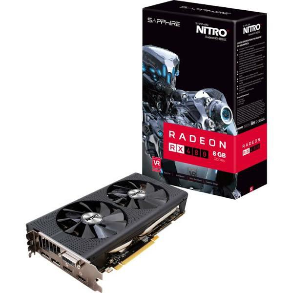 (Amazon.fr) Sapphire Radeon RX 480 Nitro+ 8GB