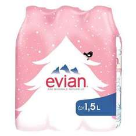 (LOKAL) 3x 6x1,5l Evian für Grenzgänger Grosbliedersdroff 22ct/Liter
