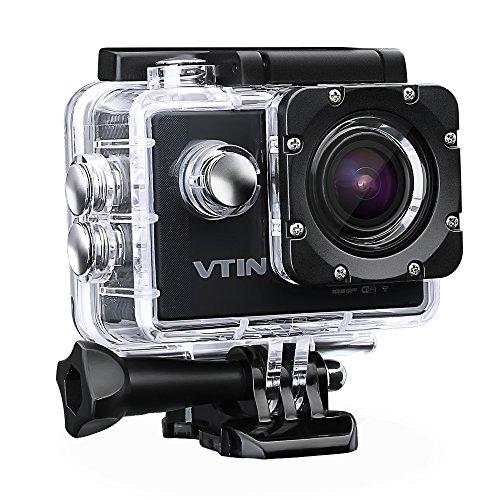 Action Kamera WIFI 2,0 Zoll, VTIN Full HD 1080P Sport Action Camera Cam Wasserdicht für 48,99€ statt 65,99€ [Amazon Angebote des Tages]