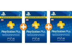 [AT PSN] 3x 12 Monate Playstation Plus für 92€ [Saturn.at]