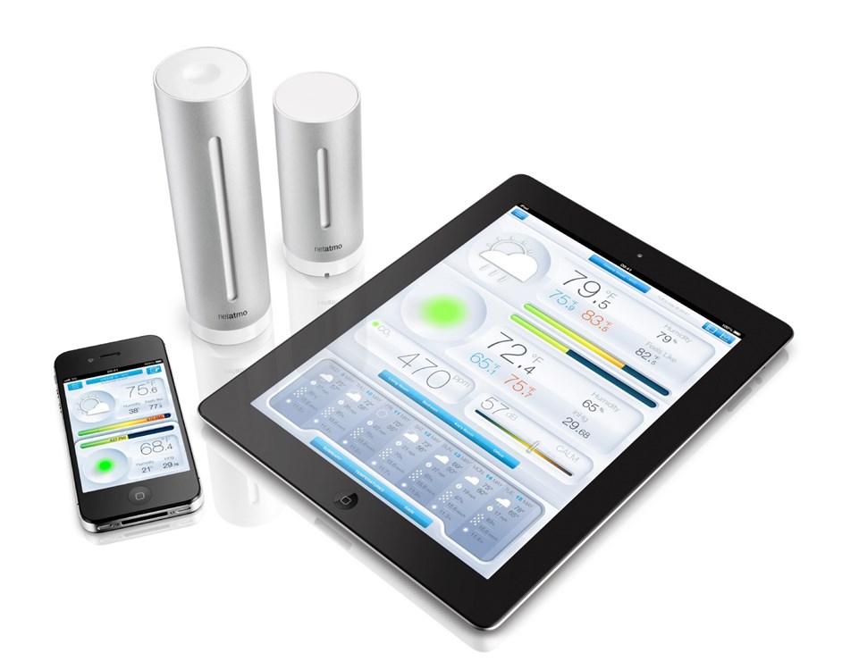 Netatmo Wetterstation für Smartphones NWS01-EC @ Media Markt - evtl. Hornbach TPG?