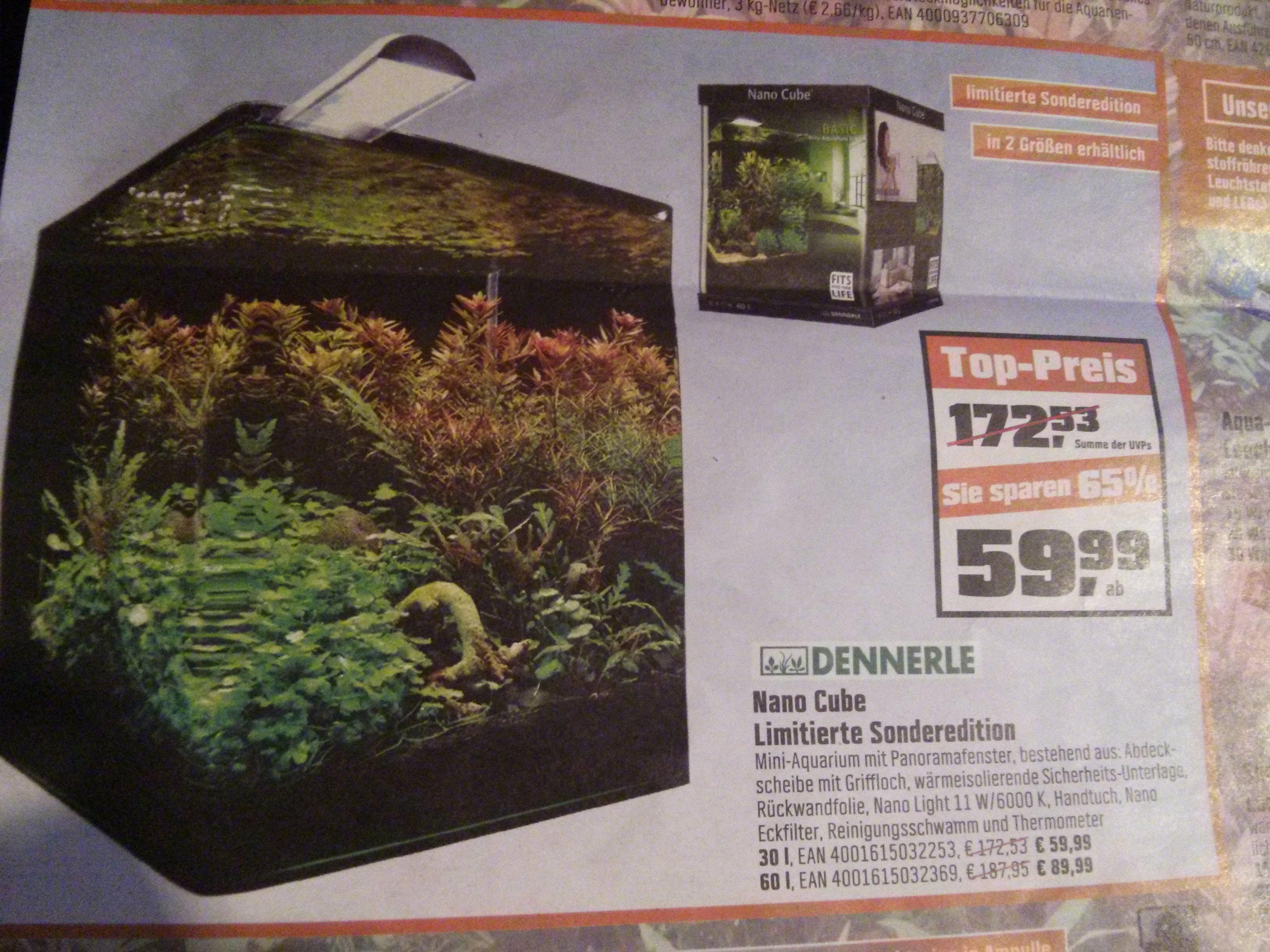 [Lokal Franken?] OBI - Dennerle Nano Cube Basic 30l für 59,99€