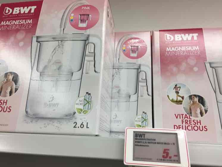 BWT Magnesium Wasserfilter bei MediaMarkt für 5€