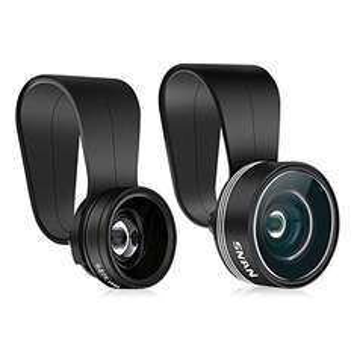 Fischeye, Weitwinkel und Makro-Objektiv Set für Smartphones für 6,99€ @amazon