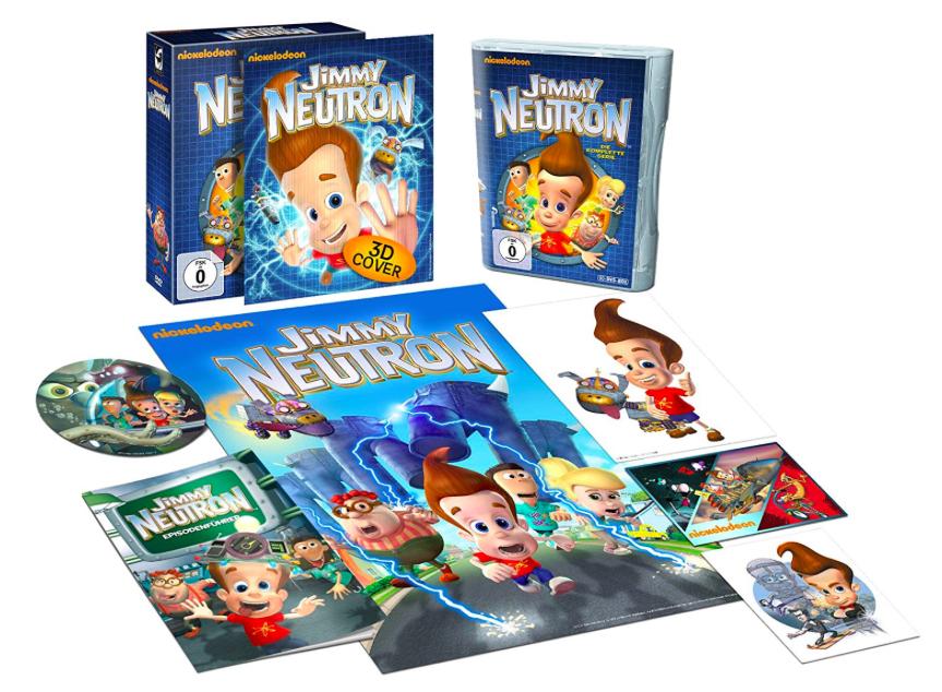 Jimmy Neutron - Die komplette Serie mit 9 DVD´s für 19,97€ mit [Amazon Prime]