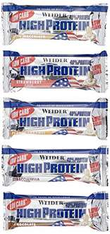[PREISFEHLER]  Weider Low Carb High Protein Bar, Mix-Box, 1er Pack (20 x 100g)