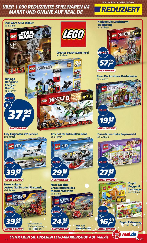 Lego Star Wars AT-ST Walker 75153 für 37,95 bei REAL