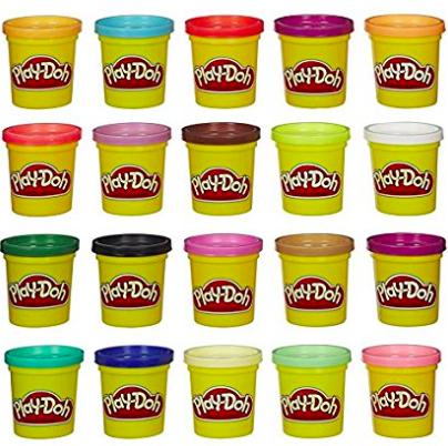 Play Doh Knete Super Farbenset 20er Pack für 9,99€ bei [Amazon und MyToys]