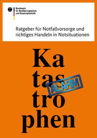 """div. Publikationen gratis bestellen oder downloaden, z.B. """"Vorsorge für den Katastrophenfall"""""""