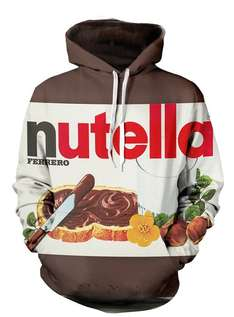[scruffy swanks] Nutella Pullover Hoodie