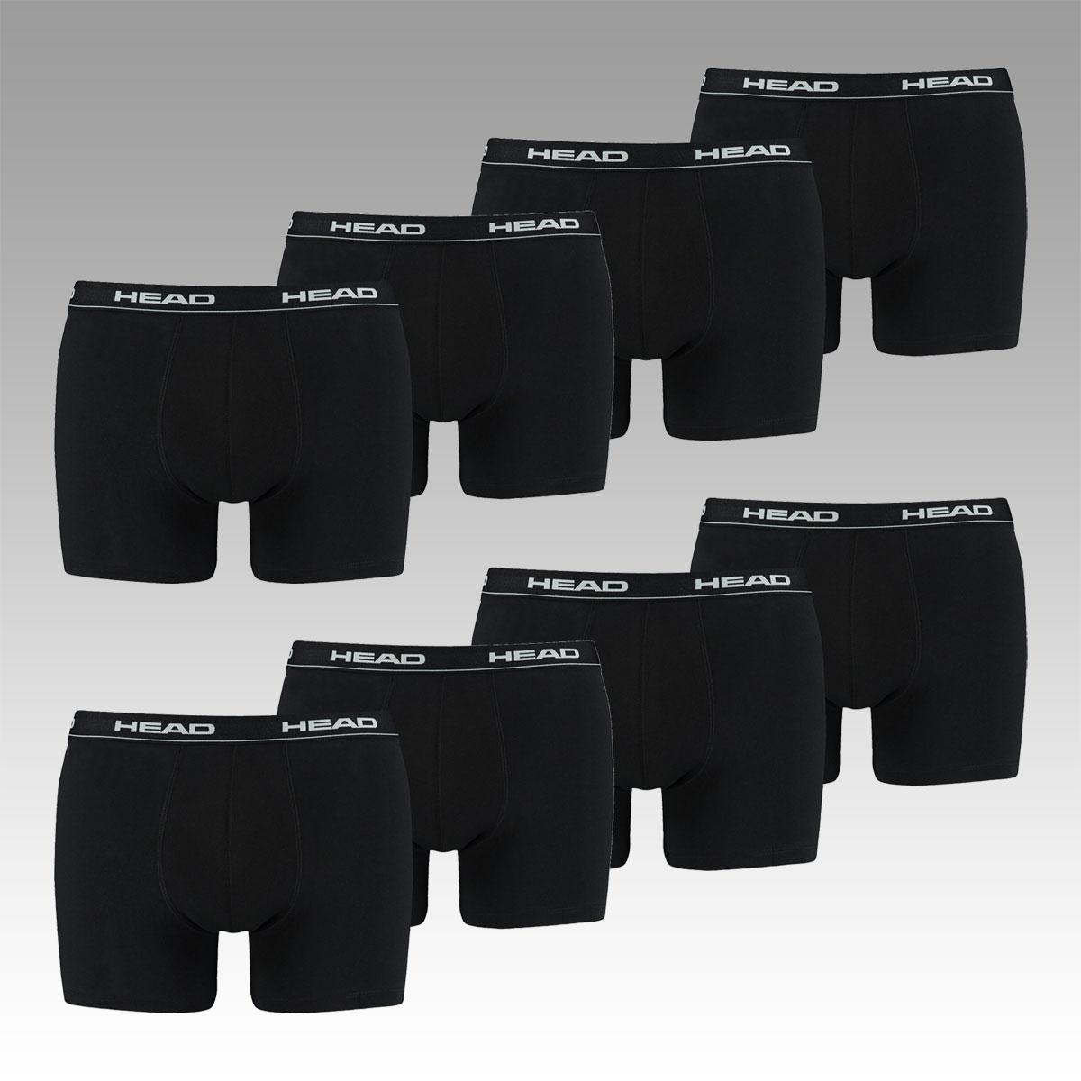 Bis morgen 8 HEAD Basic Boxershorts (verschiedene Farben + Größen) für 23,95€ inkl. Versand statt 34,99€