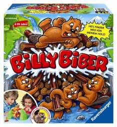 [Amazon Prime] Ravensburger 21868 - Kinderspiel Billy Biber