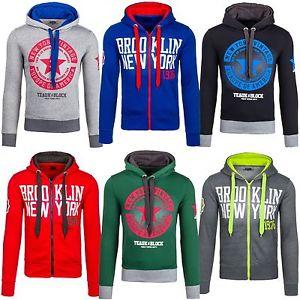 Ebay - BOLF Kapuzenpullover Pullover Sweatshirt Langarm Sweatjacke verschiedene Modelle - S bis 2XL