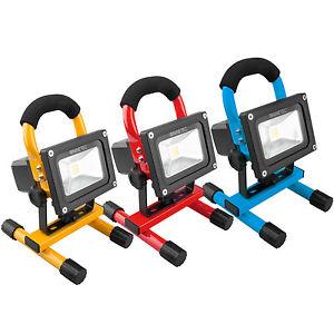 NINETEC 10W Akku LED Strahler (ebay WOW)