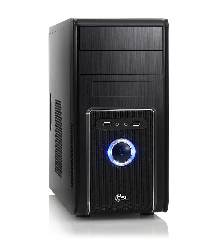CSL Grundgerüst-PCs: z.B. (A8-7600 APU mit Radeon R7 iGPU, 4GB RAM, ASUS A68HM-PLUS) für 154,90€ [CSL]
