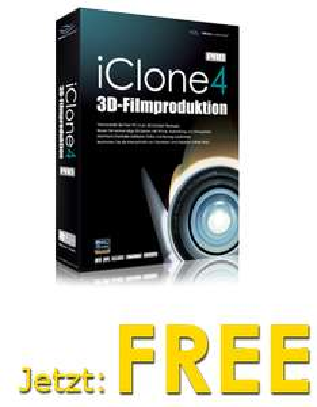 3D Animationsprogramm iClone 4 Pro gratis