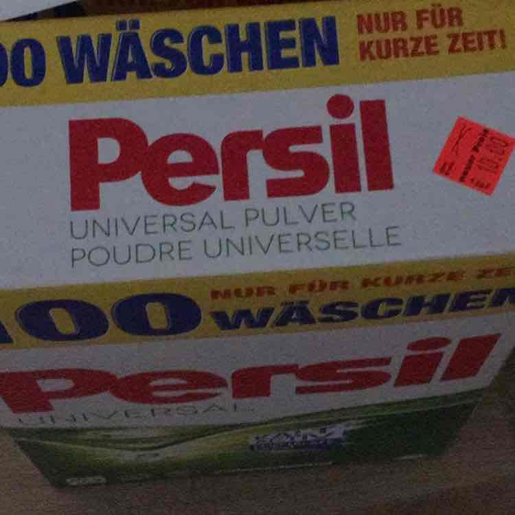 Persil für 100 Wäsche   [Lokal Lübeck]