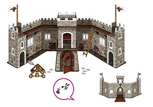 Bullyland Drachenburg mit Drache und Zauberer für 12,15€ mit [Amazon Prime]