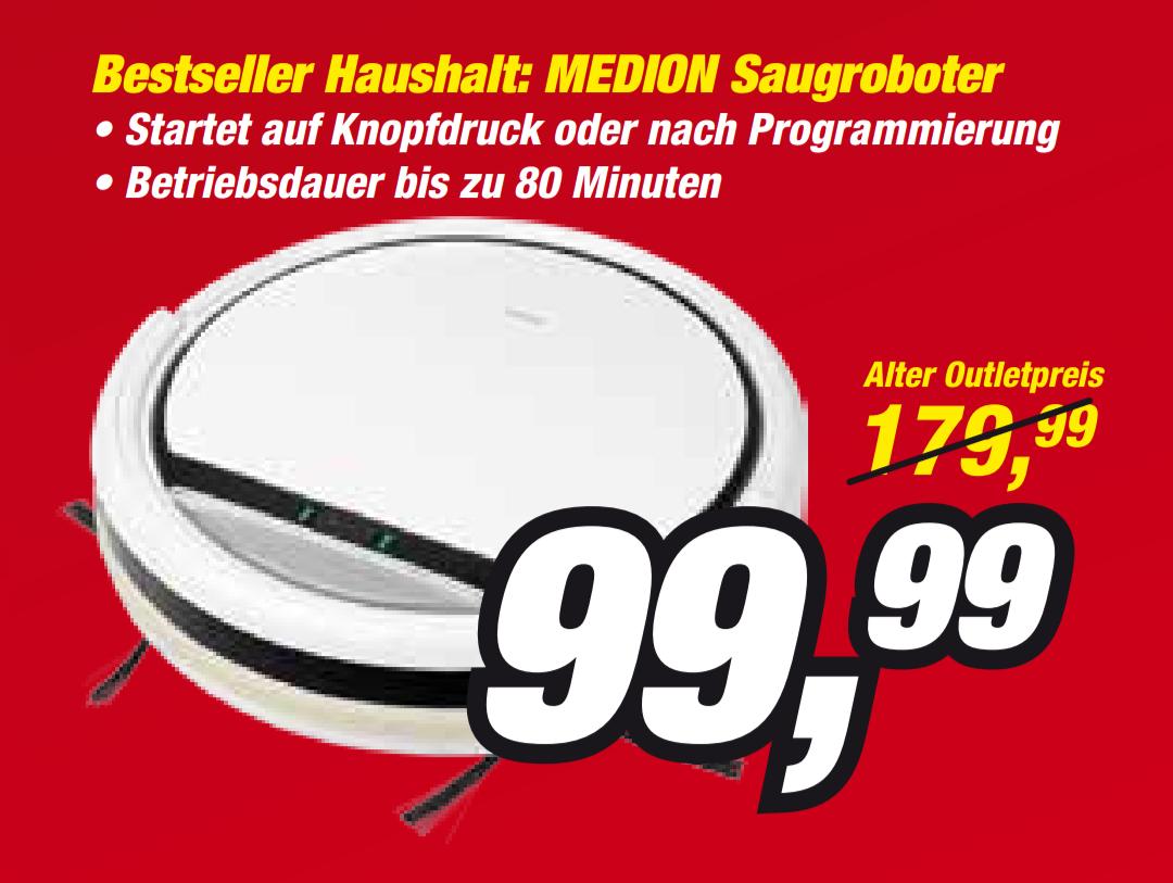 Lokal Medion Fabrikverkauf Essen Saugroboter 16192