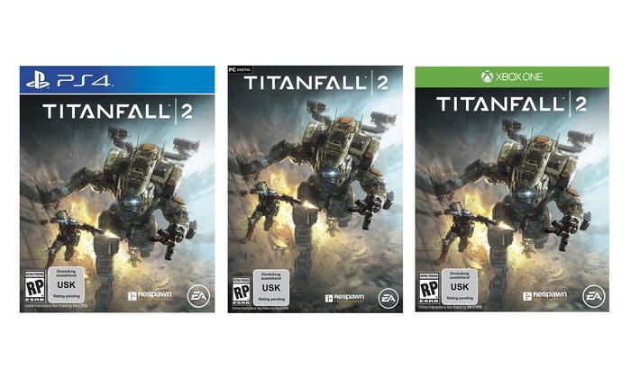 [Groupon] Titanfall 2 für 37,49 € PC // 45 € PS4 +XBOX