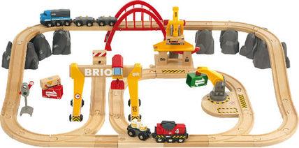 """Brio™ - 54-tlg. Holzeisenbahn-Set """"Cargo Deluxe/Frachten Set (33097)"""" ab €72,48 [@Karstadt.de]"""