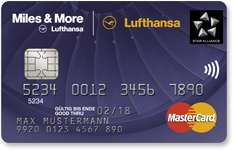 Miles & More Credit Card Blue (World Plus/World) 6-Facher Bonus (6.000/3.000 Meilen)
