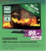 [lokal] Ep ellica Berlin 99€ Samsung UE22K5009AKXZG Full-HD LED-TV