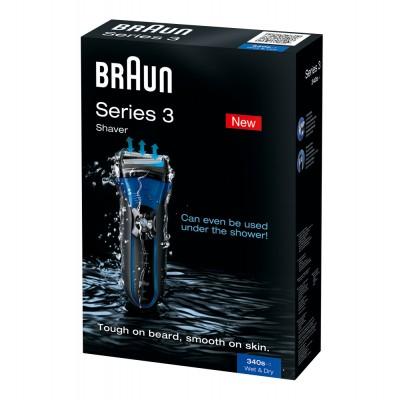 Braun Series 3 340 Herrenrasierer Wet & Dry, für 74,99 € Inkl. Versand bei Crowdfox