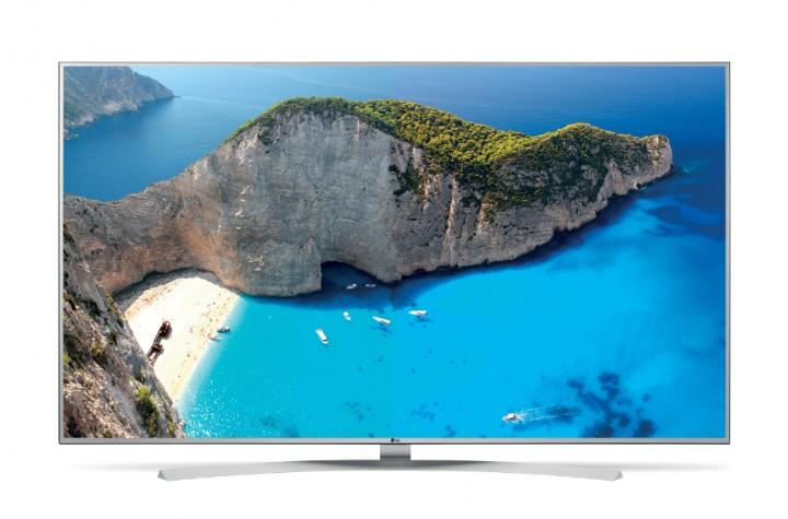 ComTech/ LG 65UH770V Ultra HD Smart TV LED Fernseher HDR Silber SDA EEK: A+