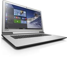 "Comtech / Lenovo IdeaPad Y700-17ISK 80RV0070GE ""Gaming"" Notebook 17.3"" Full HD i5-6300HQ 8GB 128GB SSD + HDD"