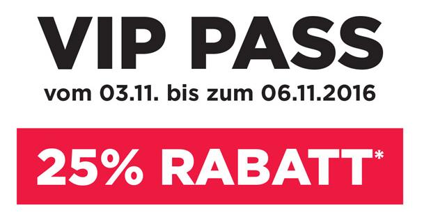 4 Tage VIP-Rabatt mit 25% auf alles bei Runner's Point, Sidestep und Foot Locker