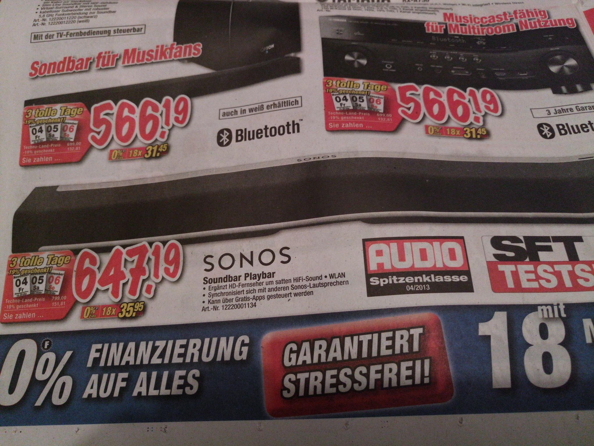 Sonos Playbar [Lokal Esslingen/Deizisau]