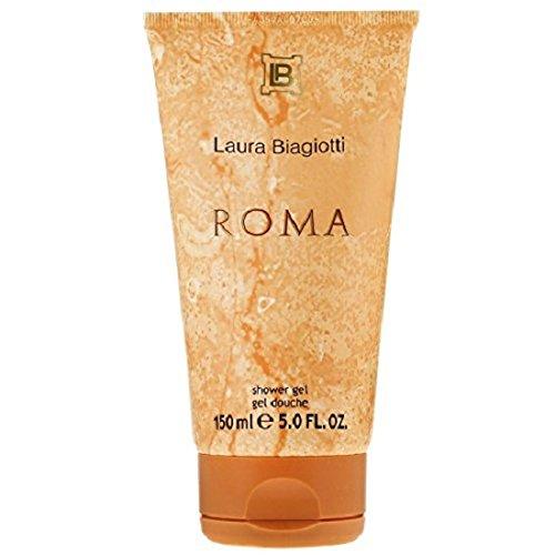 3x Laura Biagiotti Roma, Femme/Woman Duschgel, 3 x 150 ml [Prime]