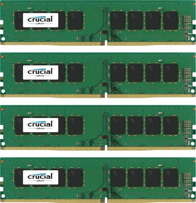 Crucial DIMM Kit 16GB DDR4-2133 (4x 4GB) für 44,73€ [Amazon]